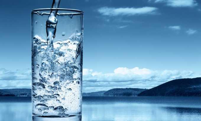Показано увеличенное потребление жидкости
