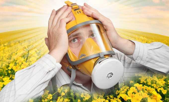 Аллергические реакции могут стать противопоказанием к приему минеральной воды