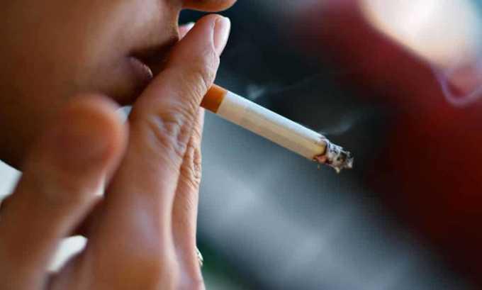 Кроме того, следует бросить курить