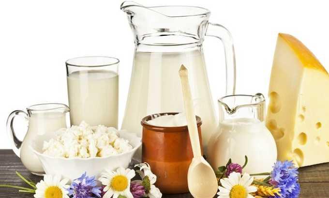 Разрешены к употреблению кисломолочные продукты