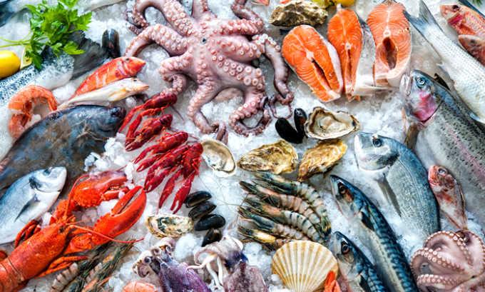 Также при панкреатите и холецистите запрещены морепродукты