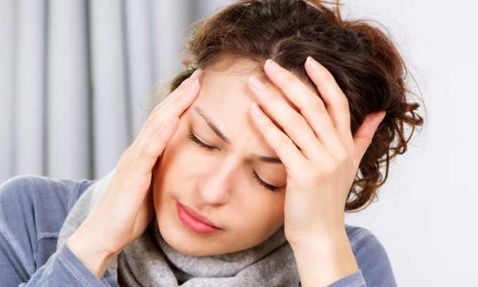 Развивается головная боль