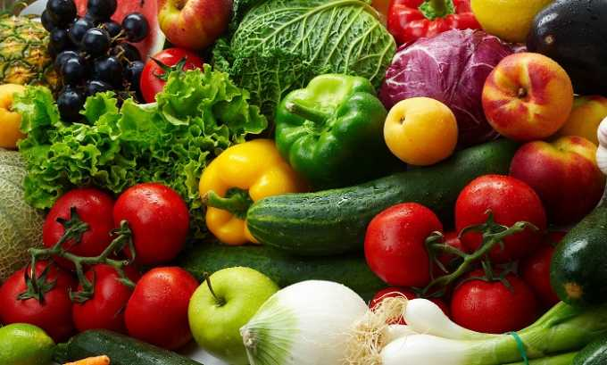 Свежие овощи и фрукты разрешено есть при заболеваниях поджелудочной железы