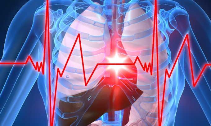 Учащенное сердцебиение является одним из симптомов запущенных заболеваний печени