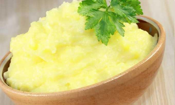 К разрешенным при панкреатите продуктам относится картофель