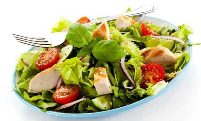 Примерное меню на неделю для больного панкреатитом может включать постный салат