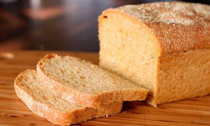 Хлеб рекомендуется белый, слегка подсушенный или черствый