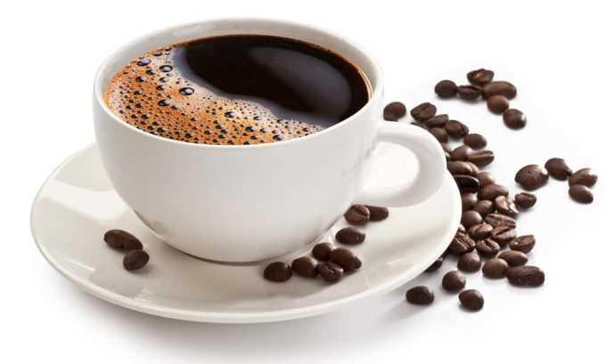 Отказаться от употребления кофе