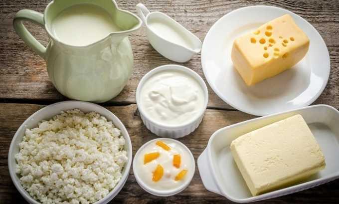 В рационе человека при панкреатите должны присутствовать молочные продукты