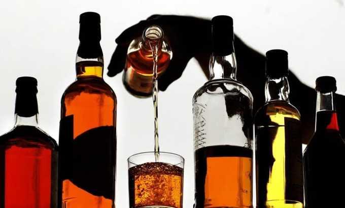 Отказ от алкогольных напитков при диффузных изменениях паренхимы поджелудочной железы