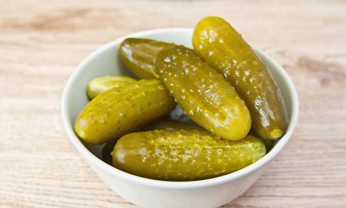 В маринованных овощах содержится вещества, являющиеся раздражителями для поджелудочной железы