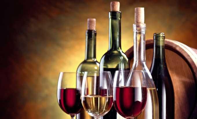 Обязательное требование здоровой диеты – полное исключение алкоголя