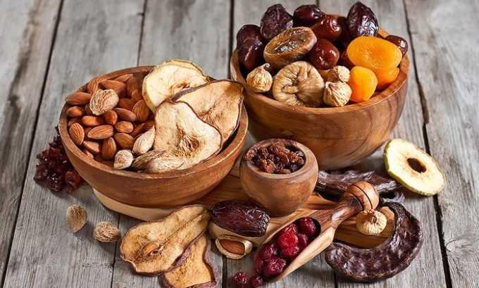 На второй завтрак диетологи могут порекомендовать съесть сухофрукты