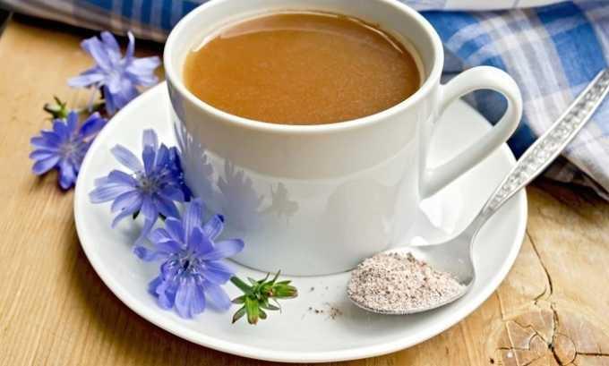 Употребление напитка из цикория способствует нормализации пищеварения и избавлению от неприятных симптомов, сопутствующих заболеваниям поджелудочной железы