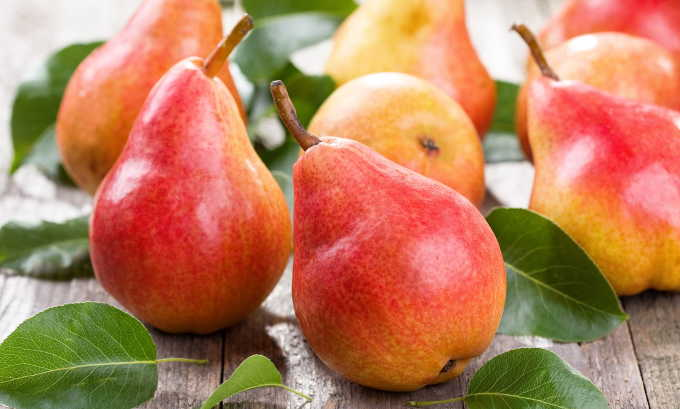 Груша является одним из рекордсменов среди фруктов по содержанию клетчатки