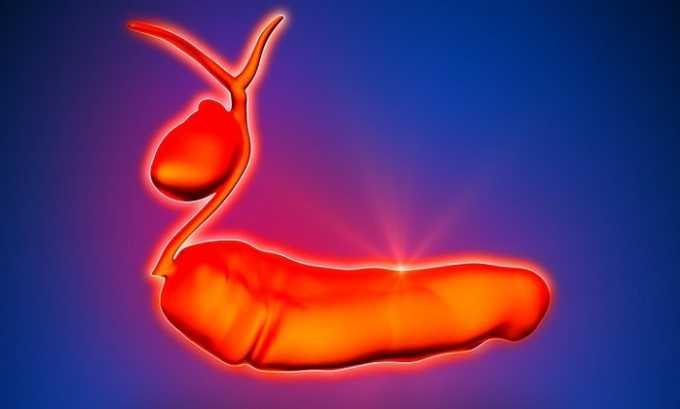 Патологии желчевыводящих путей приводят к тому, что ферменты поджелудочной железы не находят выхода в двенадцатиперстную кишку и остаются в панкреатической ткани