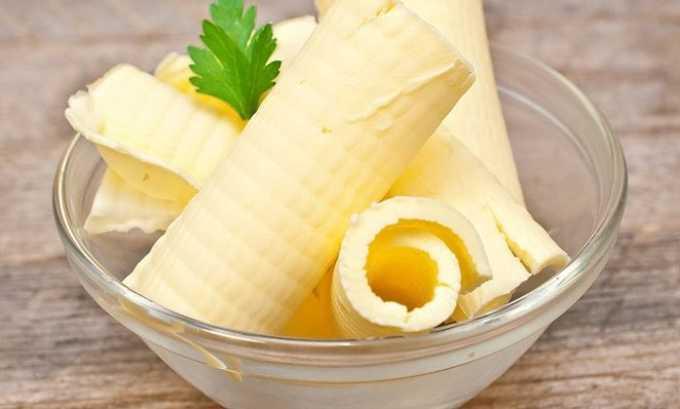 Сливочное масло используется для приготовления каш и других блюд
