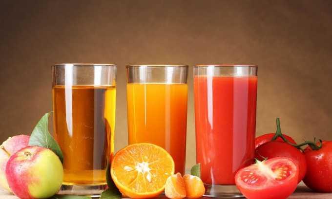 Фруктовые соки не рекомендуется употреблять перед процедурой МРТ