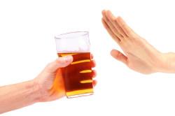 Отказ от алкоголя для восстановления поджелудочной железы