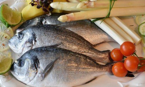 Можно употреблять в пищу рыбу (навага, треска, щука, сазан) с малой жирностью