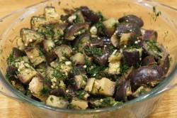 Салат из отварных баклажанов при панкреатите