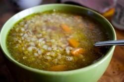Суп из гречневой крупы при реактивном панкреатите