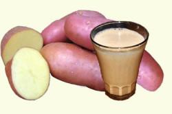 Лечение картофельным соком поджелудочной железы
