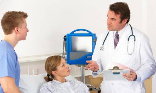 Если домашний способ терапии оказался неэффективным, необходимо лечение в условиях больницы