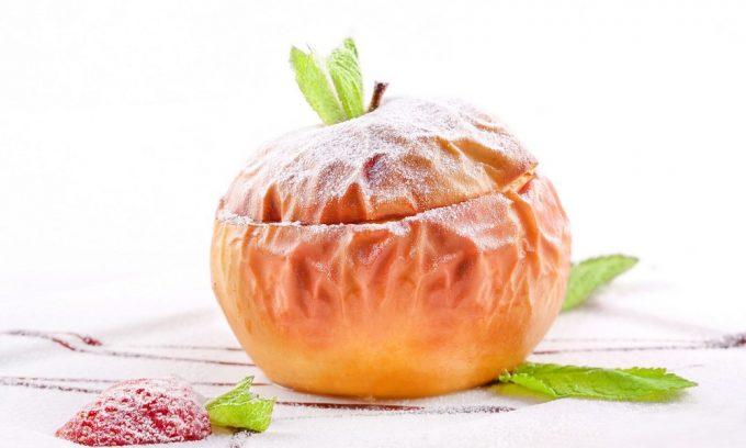 Печеные яблоки – блюдо, разрешенное как при остром, так и при хроническом панкреатите