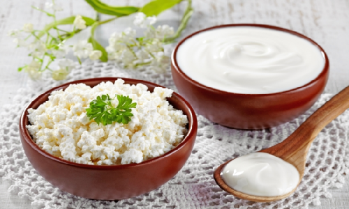 Разрешены кисломолочные продукты с небольшим содержанием жира