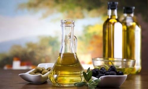 При хроническом воспалении желчного пузыря полезно употреблять оливковое масло