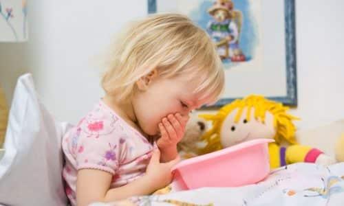 Тошнота - показание к назначению УЗИ поджелудочной железы у детей