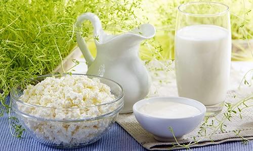 Введение в рацион творога, йогурта и других молочных продуктов обеспечит организм больного достаточной порцией белка