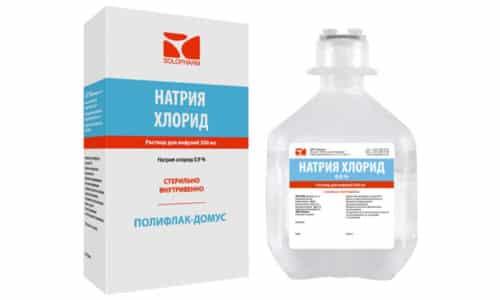 Хлорид натрия может стать причиной ацидоза, задержки большого количества жидкости, чрезмерного снижения концентрации калия