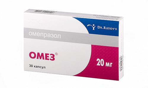 Омез применяют при гастроэзофагельной рефлюксной болезни